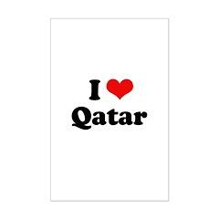 I love Qatar Posters