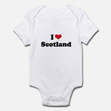 I love Scotland Infant Bodysuit