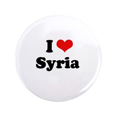 "I Love Syria 3.5"" Button (100 pack)"