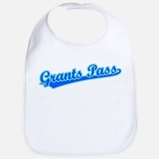 Retro Grants Pass (Blue) Bib