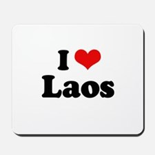 I love Laos Mousepad