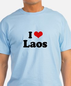I love Laos T-Shirt