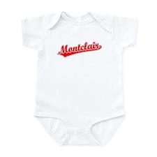 Retro Montclair (Red) Infant Bodysuit