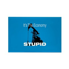 It's The Economy Stupid! Rectangle Magnet (10 pack