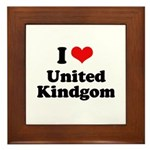 I love United Kingdom Framed Tile