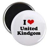 I love United Kingdom Magnet