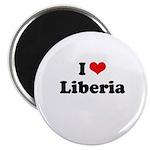 I love Liberia Magnet