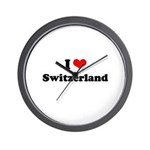I love Switzerland Wall Clock