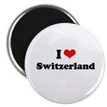 I love Switzerland Magnet
