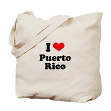 I love Puerto Rico Tote Bag