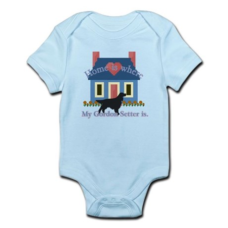 Gordon Setter Home Infant Bodysuit