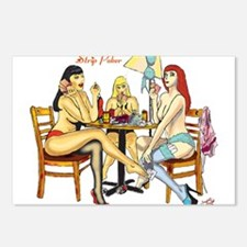 Strip Poker Postcards (Package of 8)