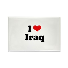 I love Iraq Rectangle Magnet (10 pack)