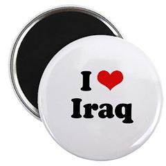 I love Iraq Magnet
