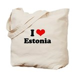 I love Estonia Tote Bag