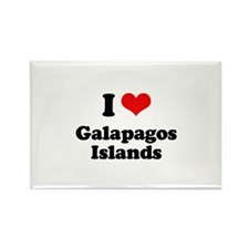 I love Galapagos Islands Rectangle Magnet