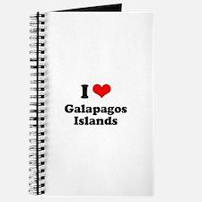 I love Galapagos Islands Journal