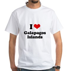 I love Galapagos Islands Shirt