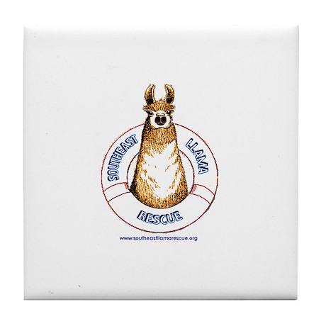 SELR Tile Coaster - llama