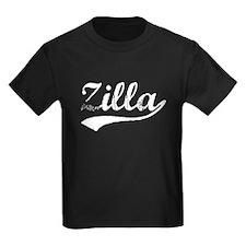 Vintage Zilla (Silver) T