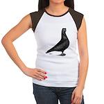 Prager Shortface Pigeon Women's Cap Sleeve T-Shirt