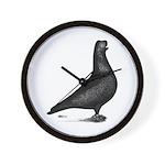 Prager Shortface Pigeon Wall Clock