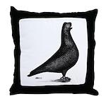 Prager Shortface Pigeon Throw Pillow