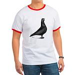 Prager Shortface Pigeon Ringer T