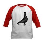 Prager Shortface Pigeon Kids Baseball Jersey