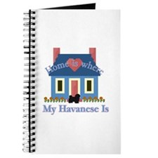 Havanese Home Is Journal