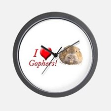 Helaine''s Gopher Wall Clock