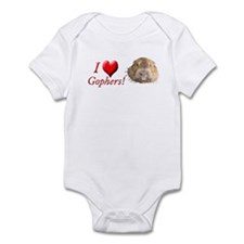 Helaine''s Gopher Infant Bodysuit