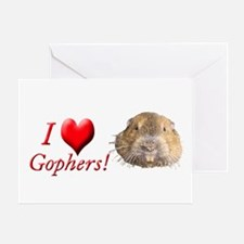 Helaine''s Gopher Greeting Card