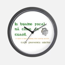 Talk prevents suicide Wall Clock