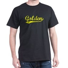 Vintage Golden (Gold) T-Shirt