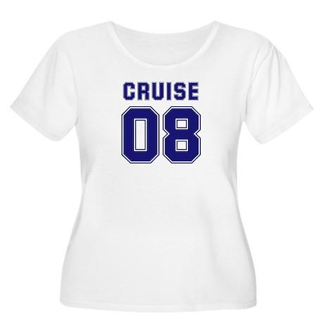 Cruise 08 Women's Plus Size Scoop Neck T-Shirt
