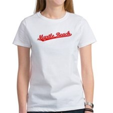 Retro Myrtle Beach (Red) Tee