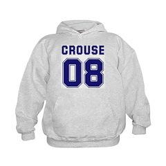 Crouse 08 Kids Hoodie