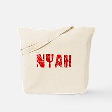 Nyah Faded (Red) Tote Bag