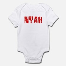 Nyah Faded (Red) Infant Bodysuit