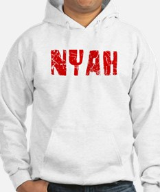 Nyah Faded (Red) Hoodie Sweatshirt