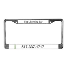 Cute Sexual assault prevention License Plate Frame