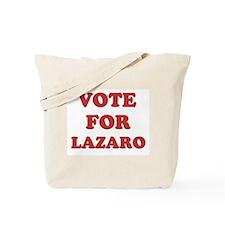 Vote for LAZARO Tote Bag