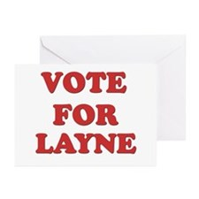 Vote for LAYNE Greeting Cards (Pk of 20)