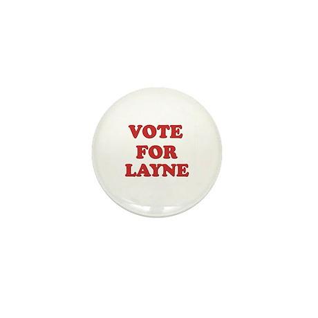 Vote for LAYNE Mini Button (10 pack)