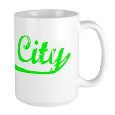 Vintage Daly City (Green) Mug
