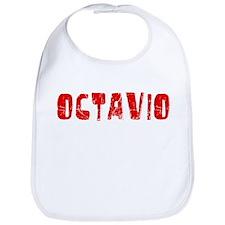 Octavio Faded (Red) Bib
