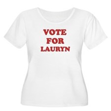 Vote for LAURYN T-Shirt