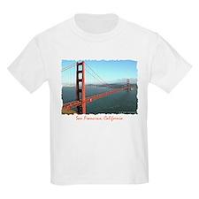 Golden Gate Bridge - Kids T-Shirt