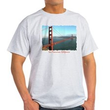 Golden Gate Bridge - Ash Grey T-Shirt